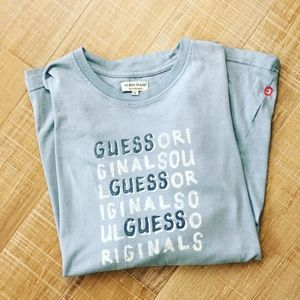GUESS Originals Logo Spell Out Short Sleeve Tee